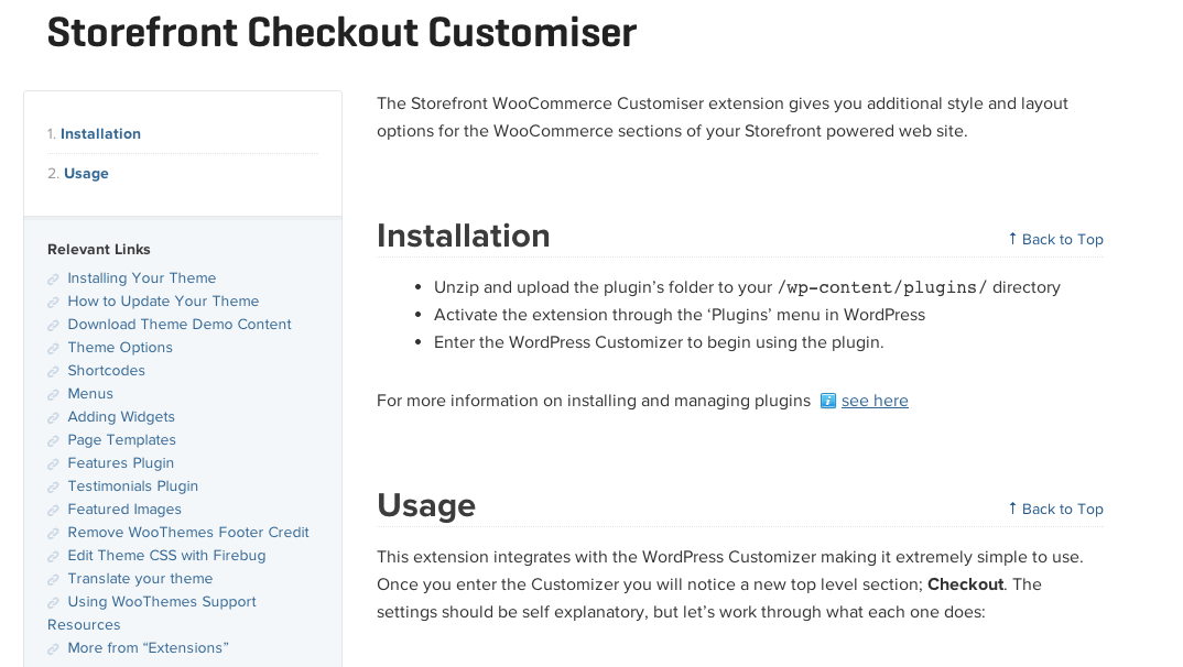 Storefront-Checkout-Customizer-Extension