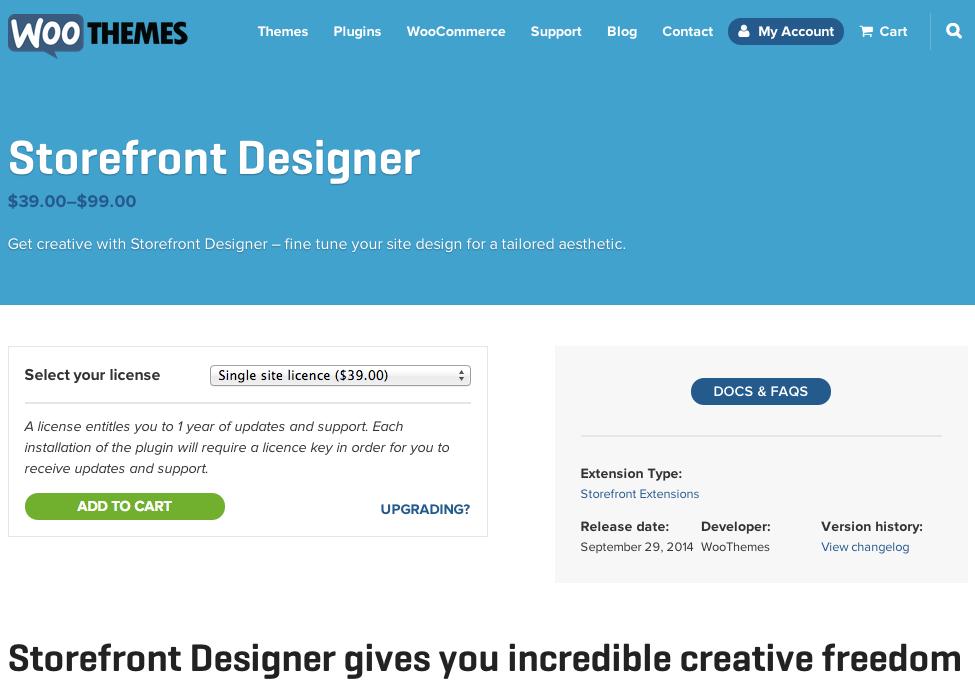 Storefront-Designer
