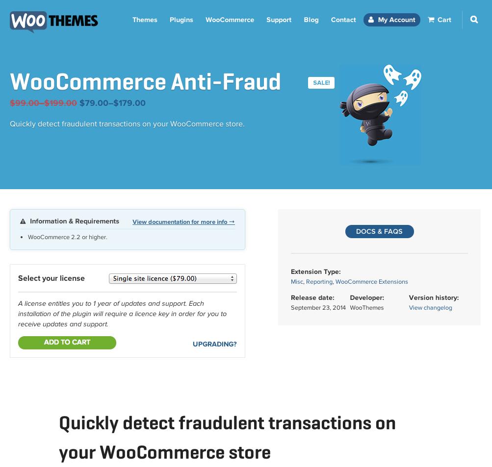 WooCommerce-Anti-Fraud