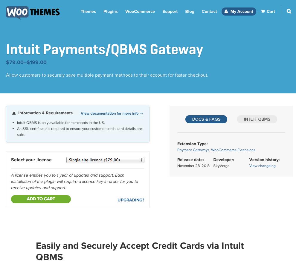 WooCommerce-Intuit-Payments-QBMS-Gateway