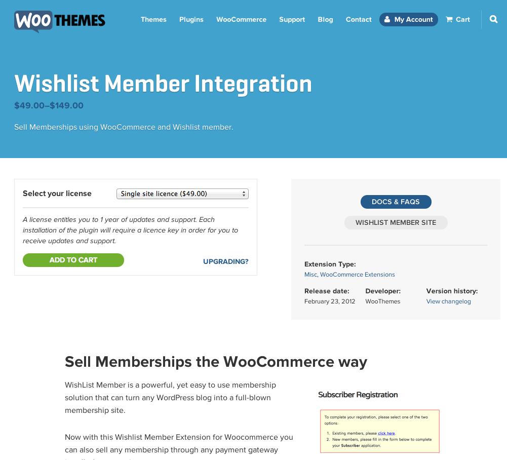 WooCommerce-Wishlist-Member-Integration