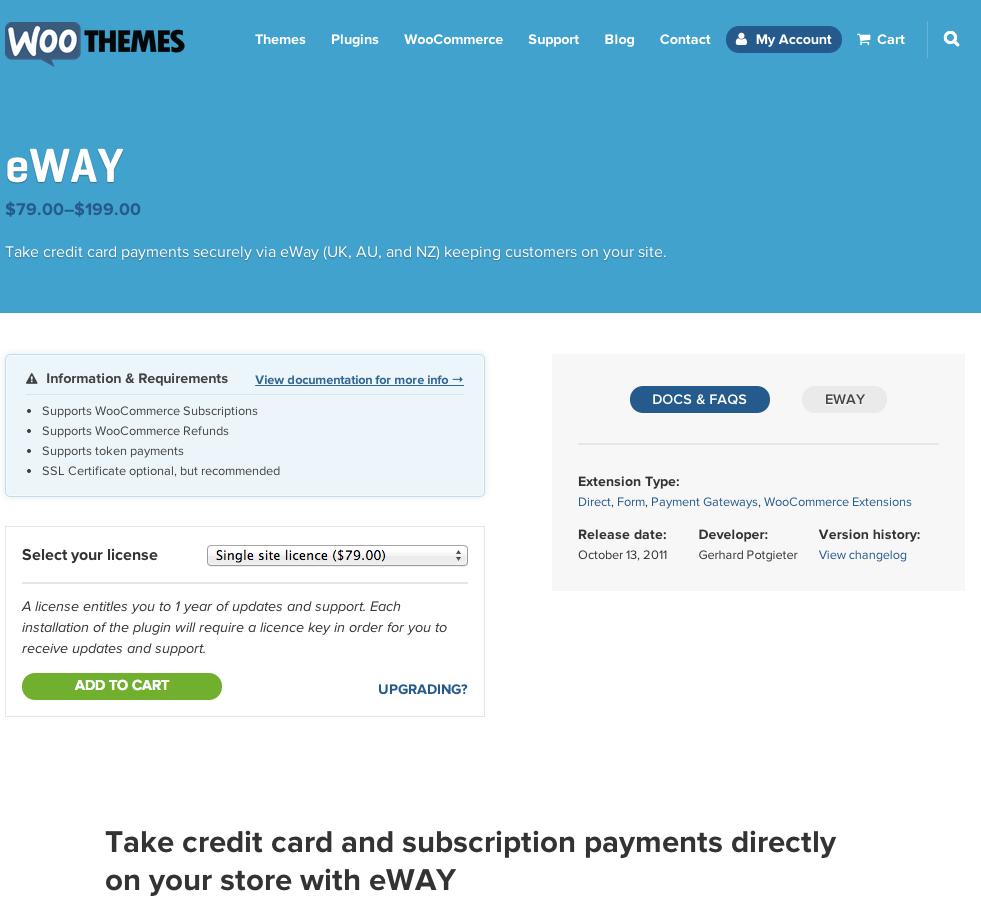 WooCommerce-eWAY-Payment-Gateway