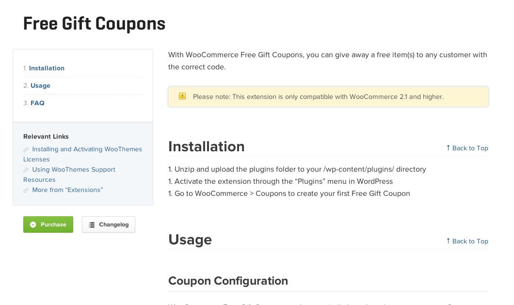 Woocommerce-Free-Gift-Coupons-Docs