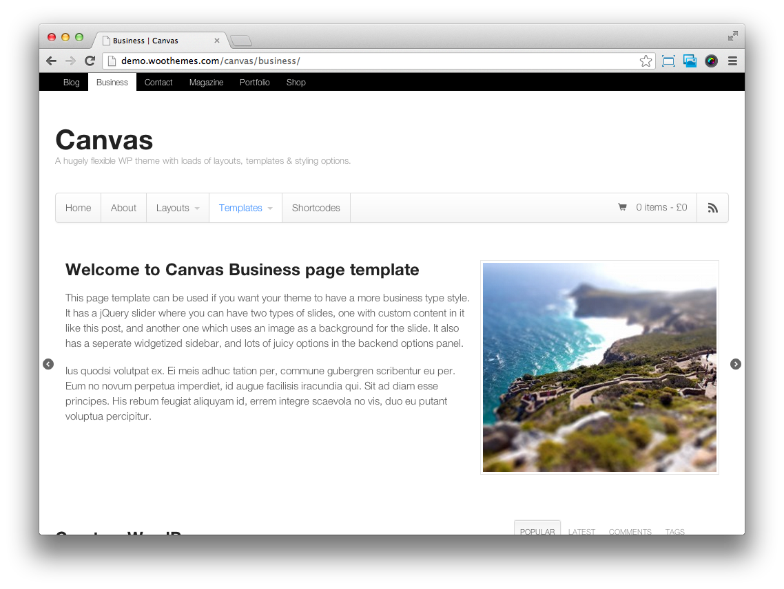 Canvas-Business