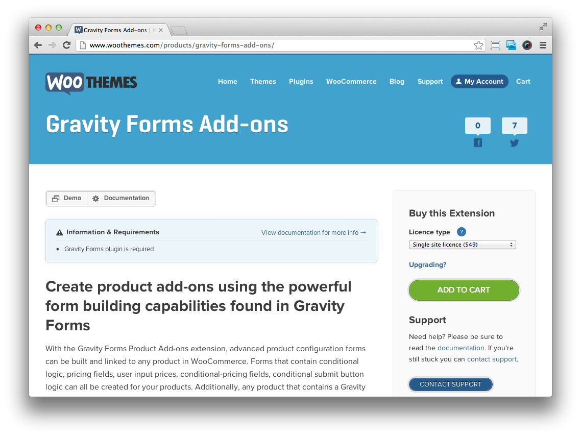 Woocommerce Gravity Forms Product Add Ons Extension Wp Base