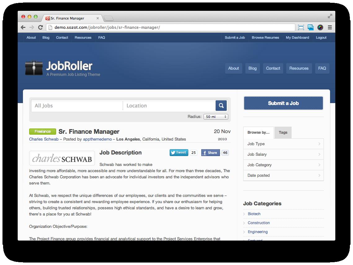 JobRoller-Job-Listing