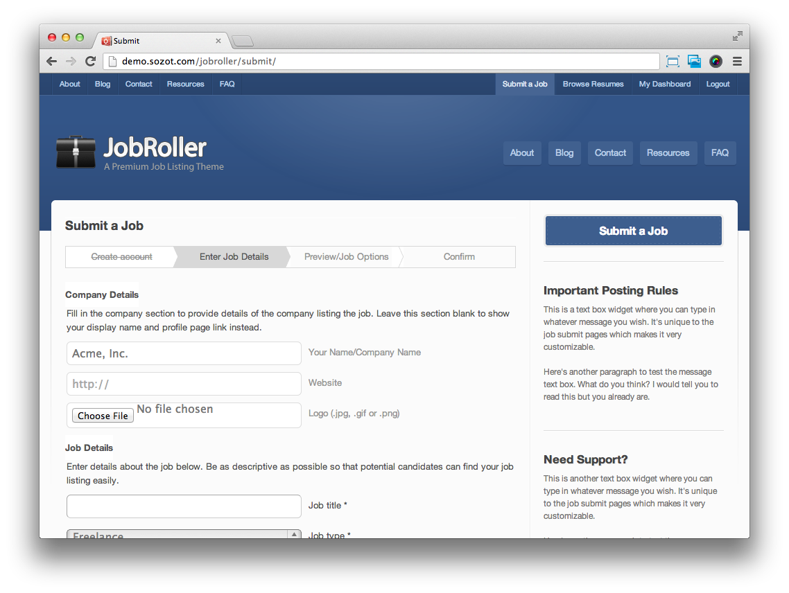 JobRoller-Submit-Listing