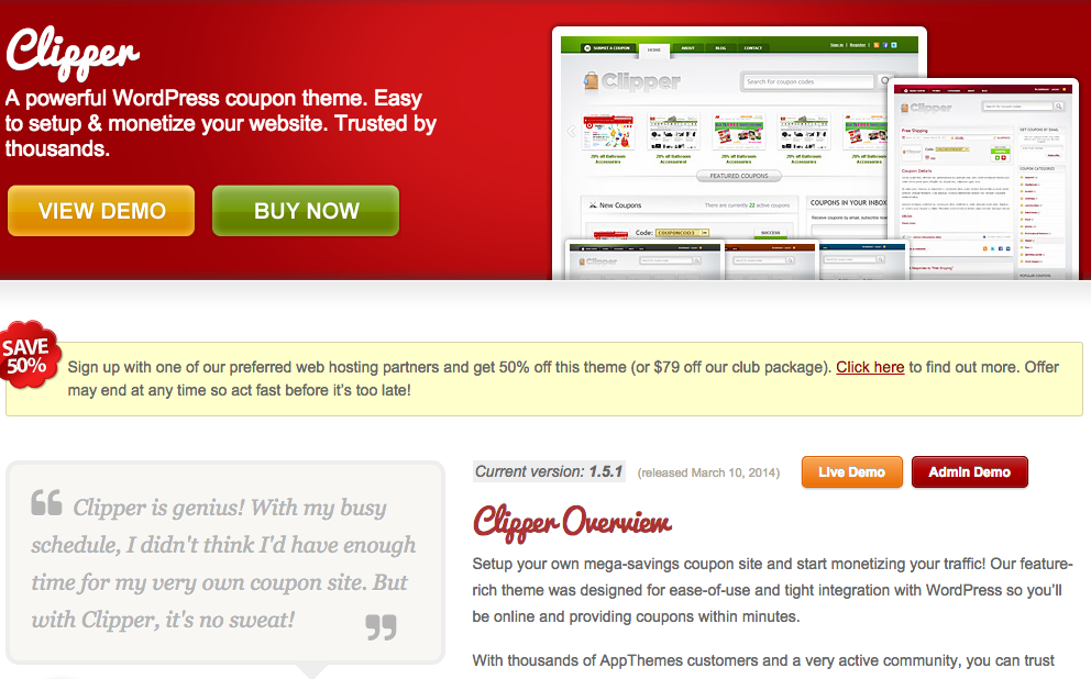 WordPress-Coupon-Management-Theme-Clipper-by-AppThemes