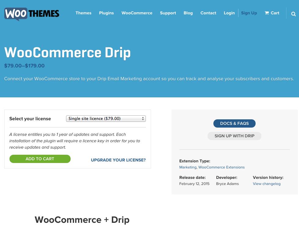 WooCommerce-Drip-Integration