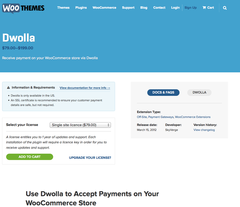 WooCommerce-Dwolla-Payment-Gateway