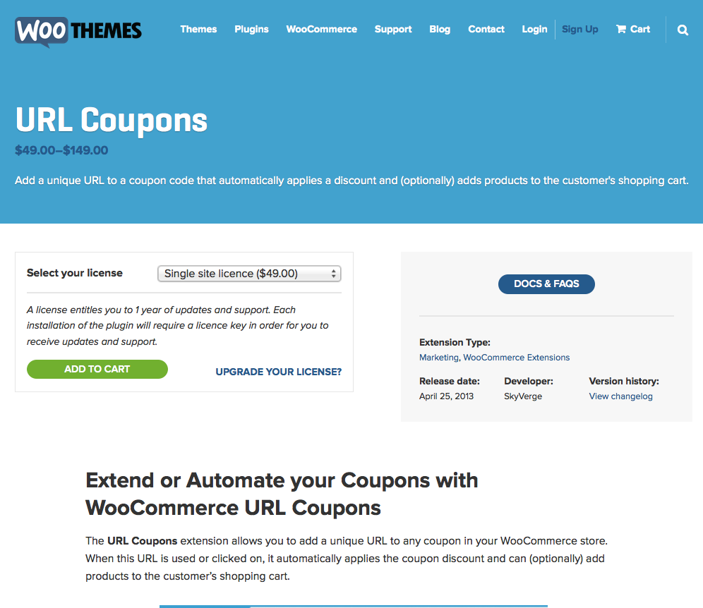 WooCommerce-URL-Coupons