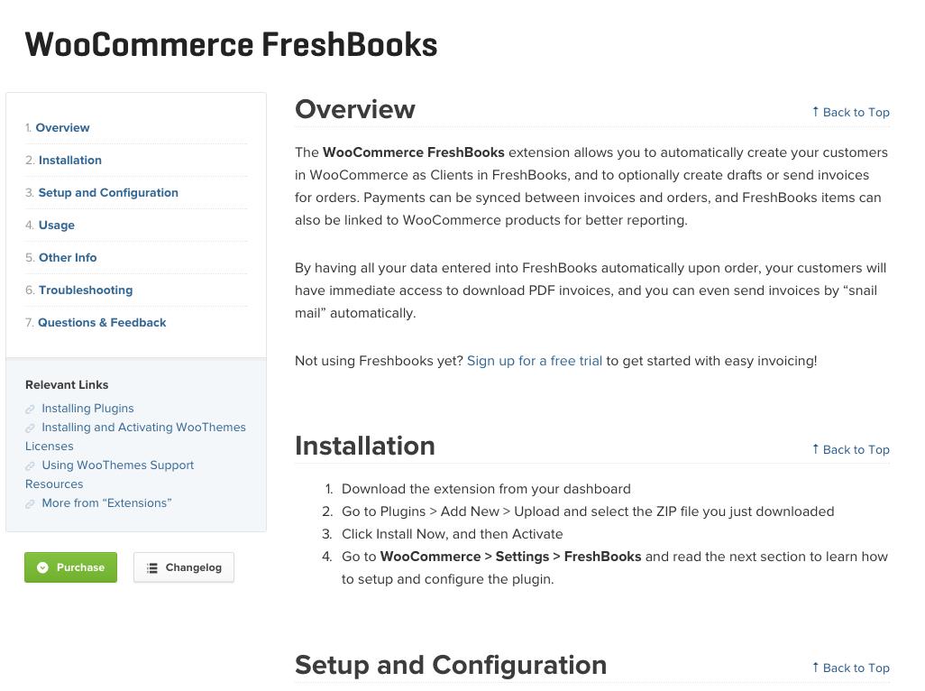 WooCommerce-Freshbooks-Docs