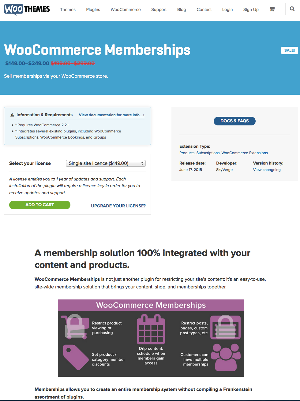 WooCommerce-Memberships